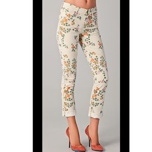 Citizens of Humanity MANDY floral skinny jeans 27